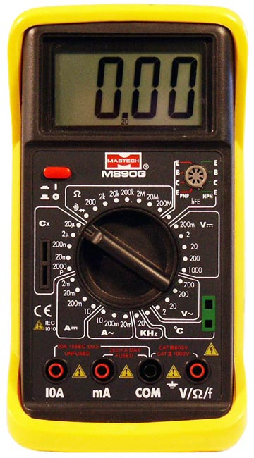 Мультиметр M890G - компактный