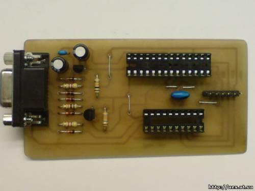 Программатор AVR pony prog
