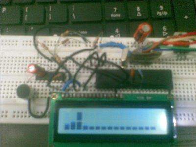 схема анализатора спектра