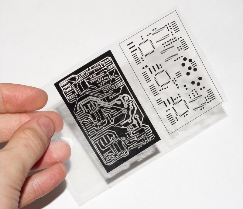 Маска для печатной платы в домашних условиях