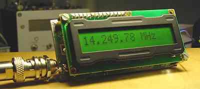 Схема частотомер с жки