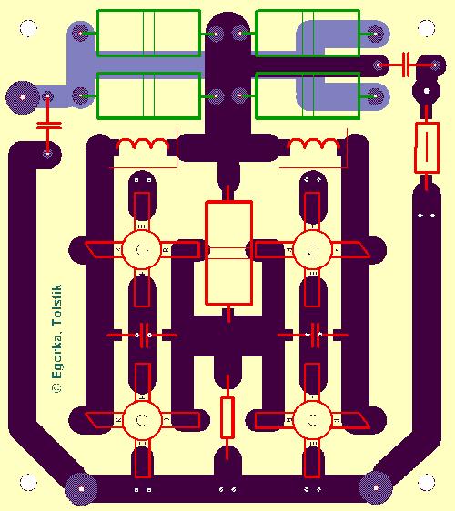 Оригинальные размеры печатки