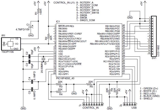 В качестве LCD-экранчика