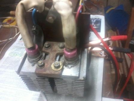 Пуско-зарядное устройство из сварки своими руками