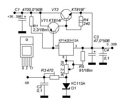 5m0365r схема включения