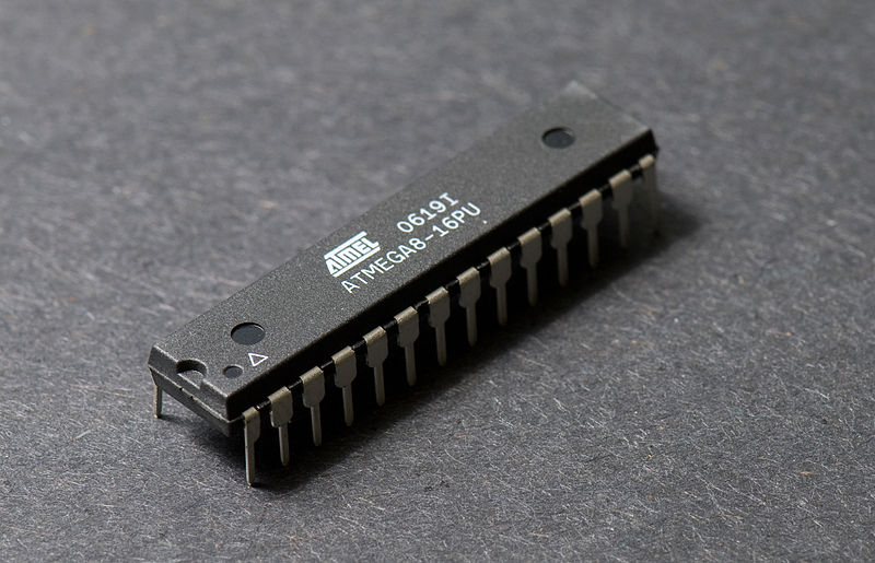 Внешний вид микроконтроллера