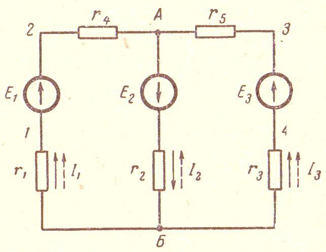 К расчету электрической цепи