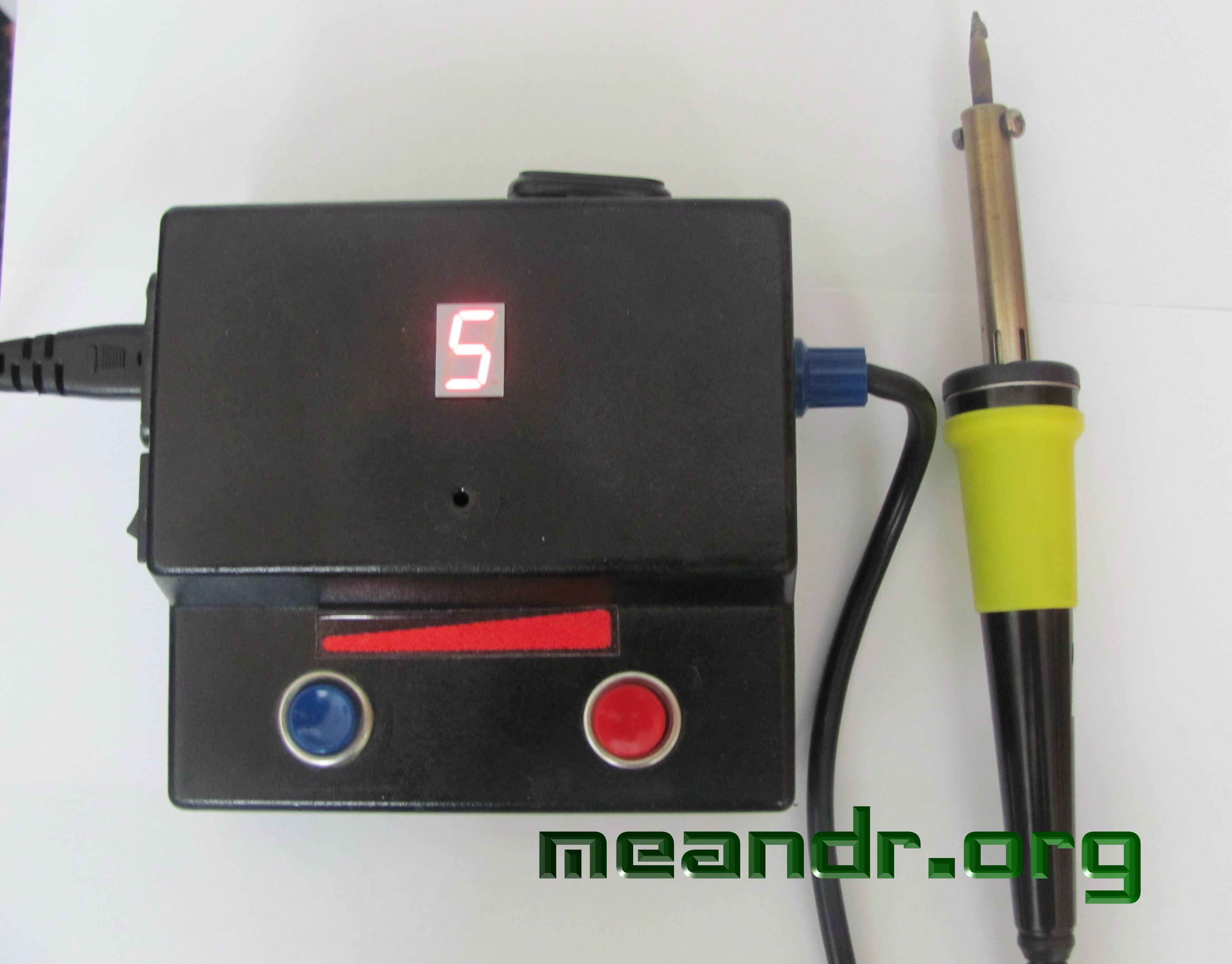 схема регулятора переменного тока на симисторе