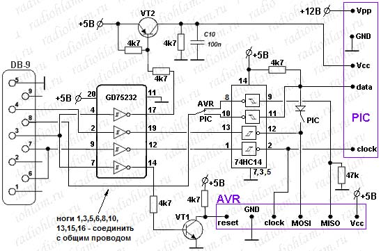 Программатор для микроконтроллера своими руками