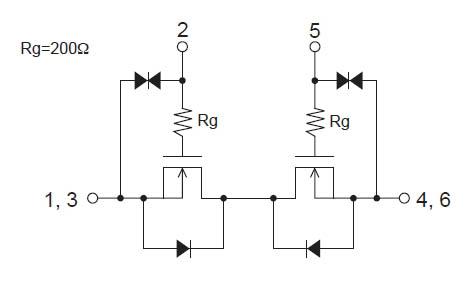 Схема внутренних электрических
