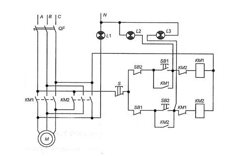 Tweet.  Электротехника.  Первый пуск электродвигателя.  Схема плавного запуска трехфазного двигателя...