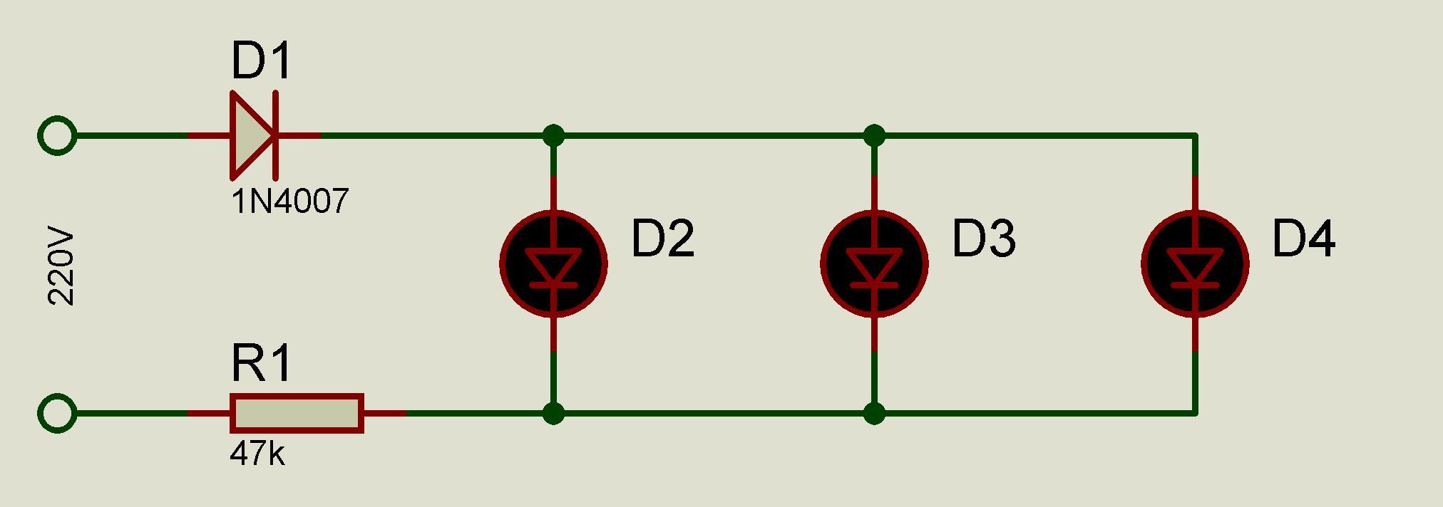 Схема подключения ламп накаливания