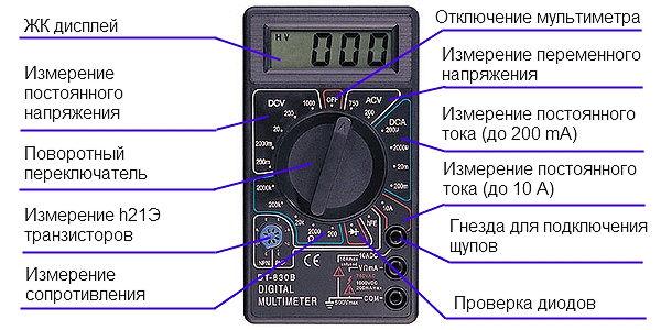мультиметр цифровой дт 830 в видео инструкция - фото 4