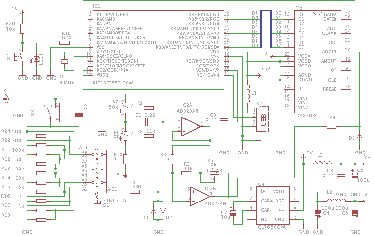 [DIAGRAM_38EU]  USB oscilloscope to PIC microcontroller – Meander – entertaining electronics | Usb Oscilloscope Schematic |  | meandr.org