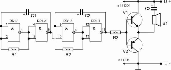 К155ла3 генератор схема
