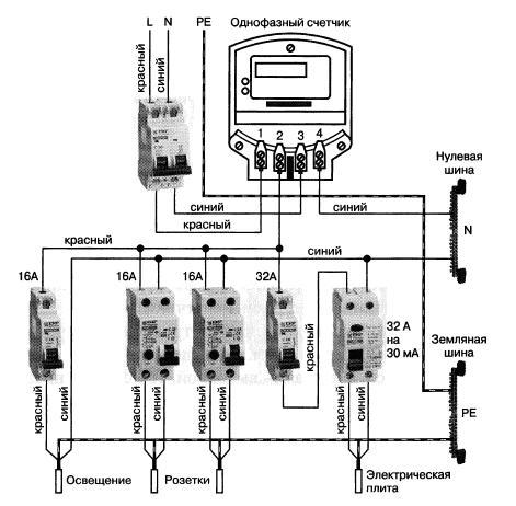 схема подключения однофазного реверса
