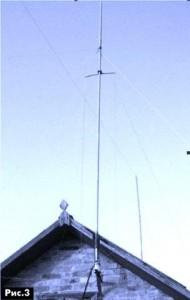 ground plane антенна из удочки