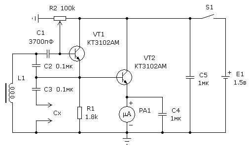 Схемы для проверки эпс конденсаторов