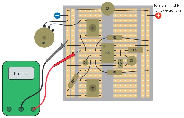 микросхемы таймера 555.