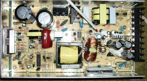Источник питания S-350-13.5V. Вид внутри