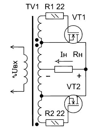 Схема синхронного