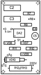 Трехфазный симисторный (тиристорный) регулятор мощности на ...