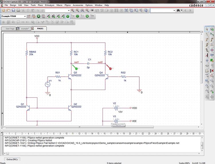 Окно модуля Capture CIS Option