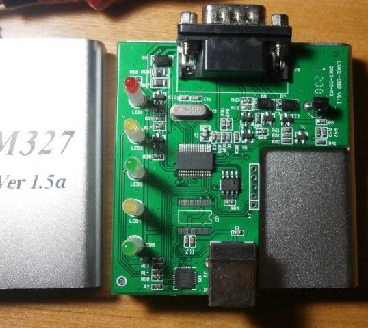 Канадский контроллер ELM327