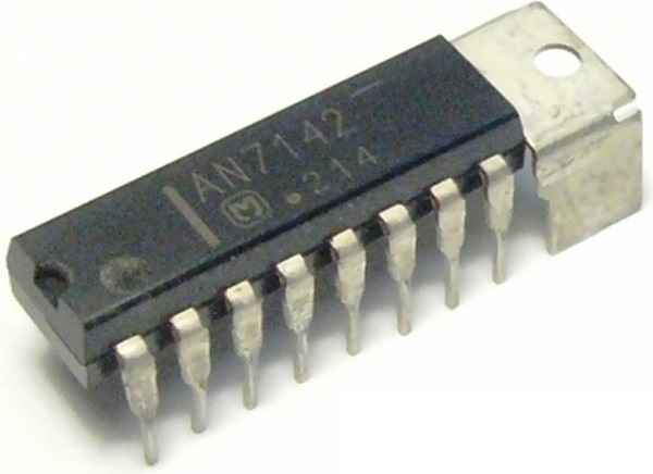 Внешний вид микросхемы AN7142