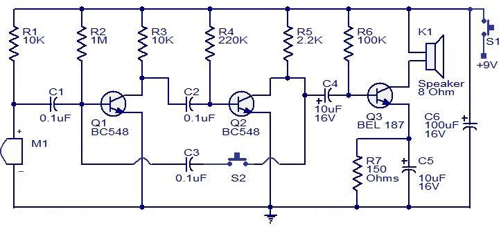 Схема своими руками электроника