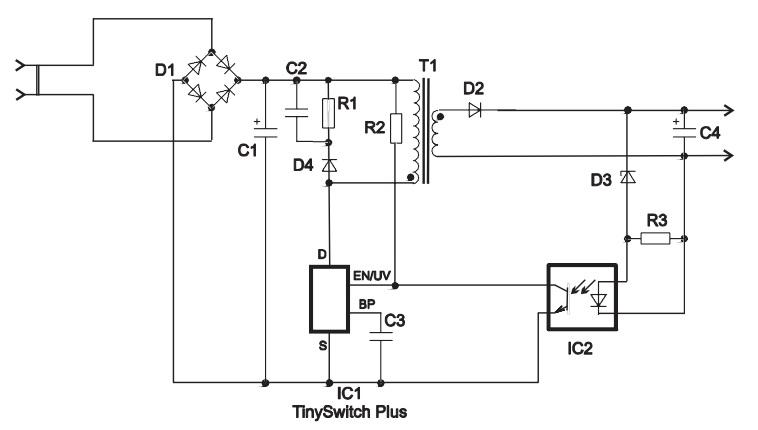 Tny255g схема включения