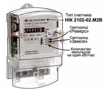 каким магнитом приостановить электросчетчик ник 2102-02 м2в