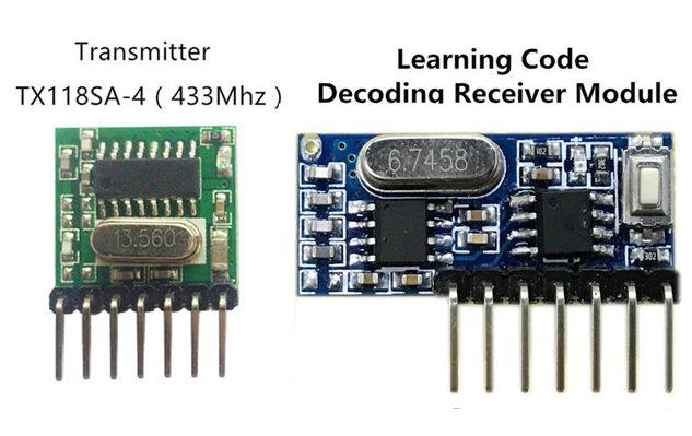Радиомодули TX118SA-4 и RX480E-4