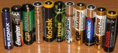 Регенерация энергоемких сухих батареек