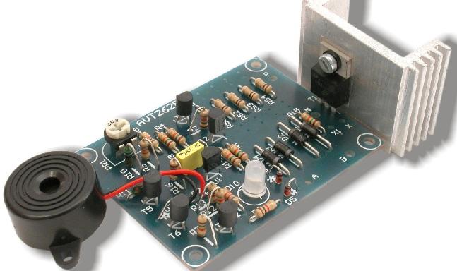 Универсальное зарядное устройство для свинцово-кислотных аккумуляторов 12В, 1...30А·ч