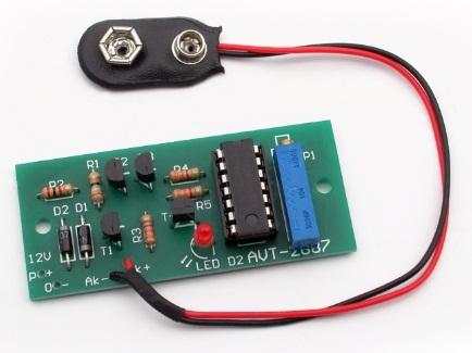 Зарядное устройство для аккумуляторов типа 6F22 (Крона)