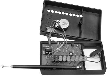 Детектор прослушки и скрытого видеонаблюдения