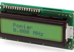 Частотомер на микроконтроллере ATTINY2313