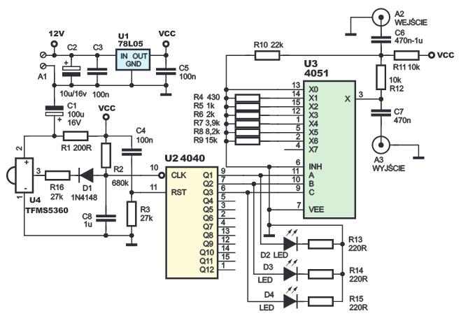 Беспроводной регулятор громкости сабвуфера