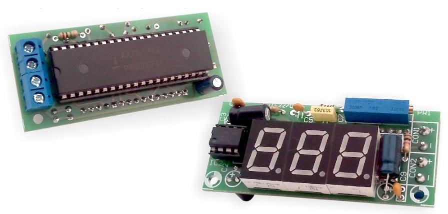 Вольтметр (амперметр) для блока питания на микросхеме ICL7107
