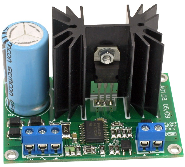 The buffer supply unit or charger for gel batteries