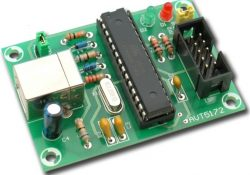Universal programmer for AVR microcontrollers
