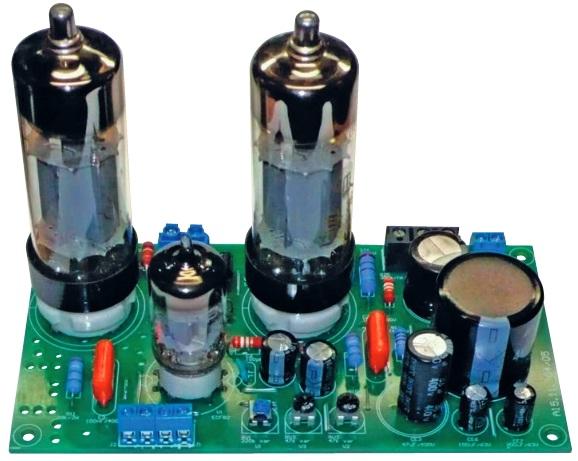 Tube power amplifier 25 W