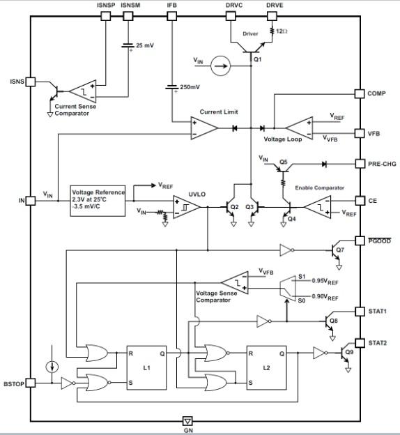 Буферный блок питания или зарядное устройство для гелевых аккумуляторов