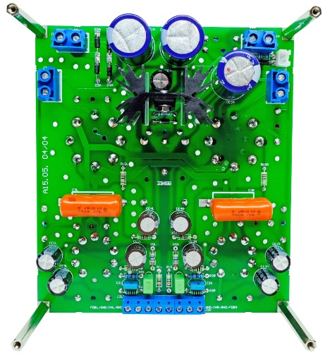 Circuit amplificateur de lampe EL34