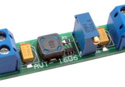 Boost voltage converter on the MCP1640 microcircuit