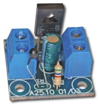 Простий терморегулятор для вентилятора на TDA1151