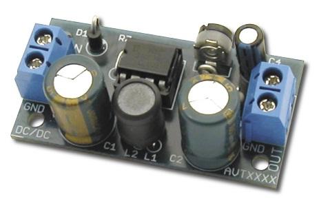 Convertidor CC / CC en MC34063